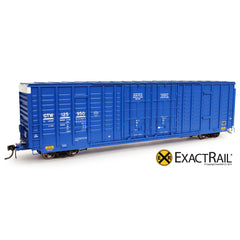 P-S 7315 Waffle Boxcar : GTW - ExactRail Model Trains - 1