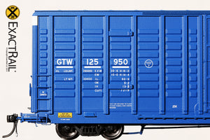 P-S 7315 Waffle Boxcar : GTW - ExactRail Model Trains - 4
