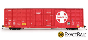 P-S 7315 Waffle Boxcar : ATSF - ExactRail Model Trains - 2