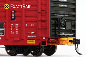 P-S 7315 Waffle Boxcar : ATSF - ExactRail Model Trains - 3