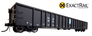X - Thrall 3564 Gondola : DJJX - ExactRail Model Trains - 3