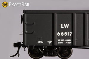 Thrall 3564 Gondola : LW - ExactRail Model Trains - 6