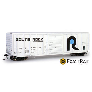 HO Scale: P-S 5344 Boxcar - Rock Island
