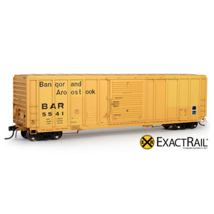HO Scale: P-S 5344 Boxcar - Bangor and Aroostook