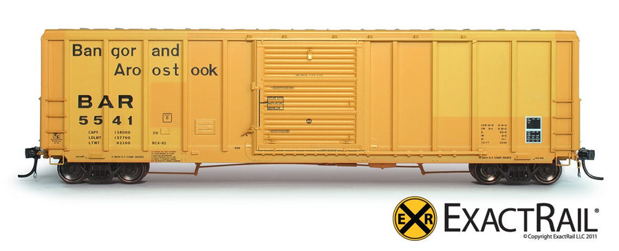 HO Scale: P-S 5344 Boxcar - BAR