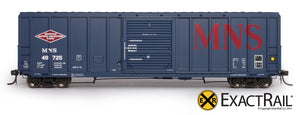 P-S 5344 Boxcar : MNS - ExactRail Model Trains - 2