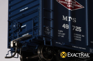 P-S 5344 Boxcar : MNS - ExactRail Model Trains - 3