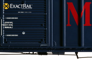 P-S 5344 Boxcar : MNS - ExactRail Model Trains - 6