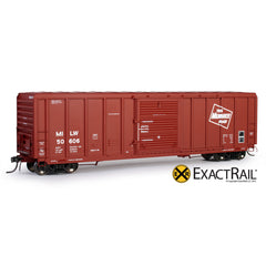 HO Scale: P-S 5344 Box Car - MILW