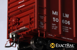 P-S 5344 Box Car : MILW - ExactRail Model Trains - 4