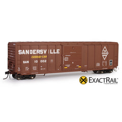 HO Scale: P-S 5344 Boxcar - SAN