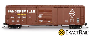 P-S 5344 Boxcar : SAN - ExactRail Model Trains - 2