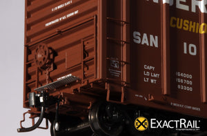 P-S 5344 Boxcar : SAN - ExactRail Model Trains - 4