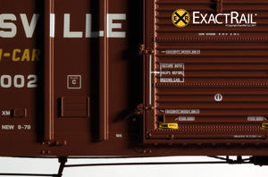 P-S 5344 Boxcar : SAN - ExactRail Model Trains - 6