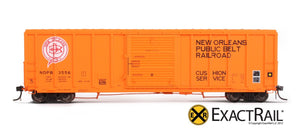 P-S 5344 Boxcar : NOPB - ExactRail Model Trains - 2