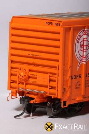 P-S 5344 Boxcar : NOPB - ExactRail Model Trains - 5