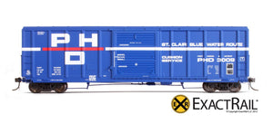 P-S 5344 Boxcar : PHD - ExactRail Model Trains - 2