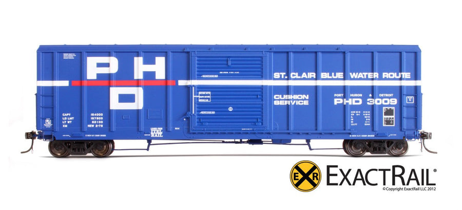 HO Scale: P-S 5344 Boxcar - Port Huron and Detroit