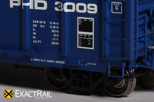 P-S 5344 Boxcar : PHD - ExactRail Model Trains - 4