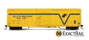 P-S 5344 Boxcar : SBVR - ExactRail Model Trains - 2