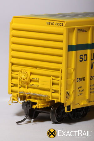 P-S 5344 Boxcar : SBVR - ExactRail Model Trains - 5