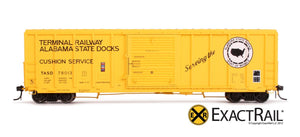 P-S 5344 Boxcar : TASD - ExactRail Model Trains - 2