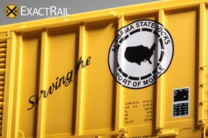 P-S 5344 Boxcar : TASD - ExactRail Model Trains - 4