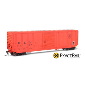 HO Scale: P-S 5344 Boxcar - Delaware and Hudson