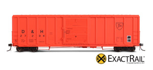P-S 5344 Boxcar : D&H - ExactRail Model Trains - 2