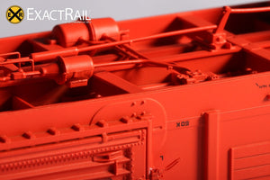 P-S 5344 Boxcar : D&H - ExactRail Model Trains - 5