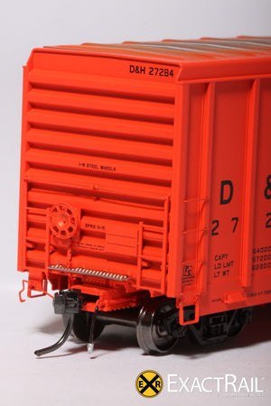 P-S 5344 Boxcar : D&H - ExactRail Model Trains - 6