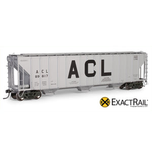 HO Scale: Magor 4750 Covered Hopper - Atlantic Coast Line