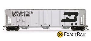Magor 4750 Covered Hopper : BN - ExactRail Model Trains - 2