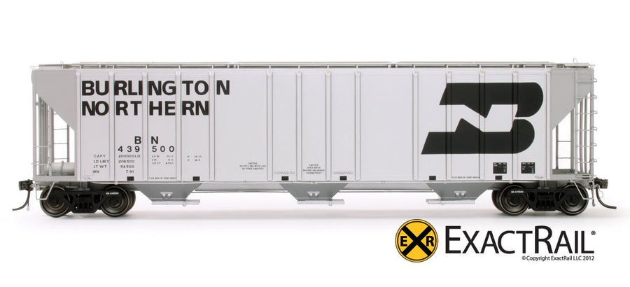 HO Scale: Magor 4750 Covered Hopper - BN