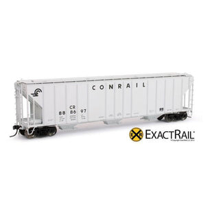 HO Scale: Magor 4750 Covered Hopper - Conrail