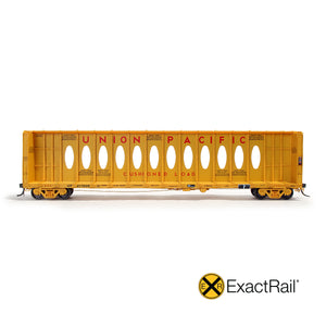 HO Scale: Thrall 63' Centerbeam Flat Car - Union Pacific