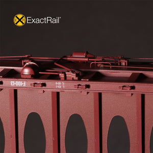 HO Scale: Thrall 63' Centerbeam Flat Car - Union Pacific '1985 Repaint'
