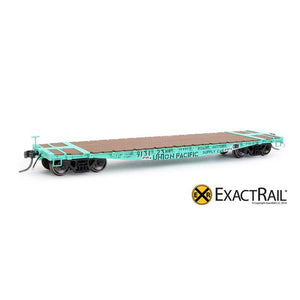 HO Scale: GSC 42' Flat Car - UP 'MOW 913123'
