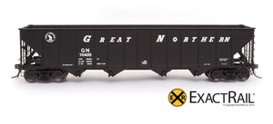 "Bethlehem 3483 Hopper : GN: 1964 ""As Delivered"" - ExactRail Model Trains - 2"