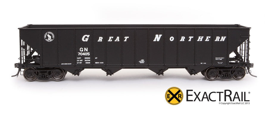 HO Scale: Bethlehem 3483 Hopper - Great Northern '1964 As Delivered'
