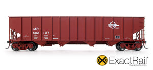 Bethlehem 3737 Hopper : MP : 1984 Small Eagle Repaint - 3737 - ExactRail Model Trains - 3