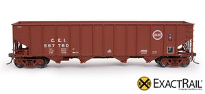 "Bethlehem 3737 Hopper : CEI : 1973 ""As Delivered"" - ExactRail Model Trains - 2"