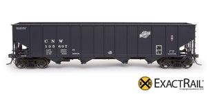 "Bethlehem 3737 Hopper : CNW : 1976 ""As Delivered"" - ExactRail Model Trains - 2"