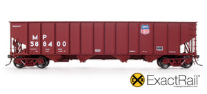 Bethlehem 3737 Hopper : UP : 588400 1991 Repaint - ExactRail Model Trains - 2