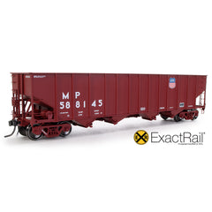 Bethlehem 3737 Hopper : UP : 588145 1991 Repaint - ExactRail Model Trains - 1
