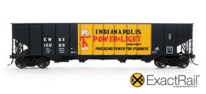 Bethlehem 3737 Hopper : EWSX : 1973 As Delivered - ExactRail Model Trains - 2