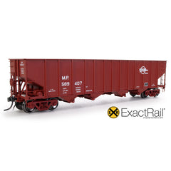 Bethlehem 3737 Hopper : MP : 1984 Small Eagle Repaint - 3716 - ExactRail Model Trains - 1