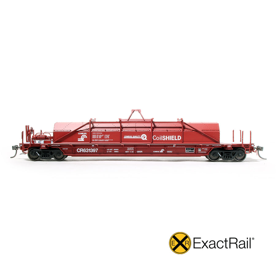 HO Scale: Thrall 54' Coil Car - Conrail '1993 As Delivered'
