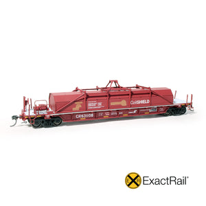 HO Scale: Thrall 54' Coil Car - Conrail 'Patched Hood'