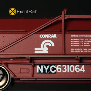 HO Scale: Thrall 54' Coil Car - NYC 'Patch'